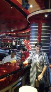 Круиз на лайнере по Средиземному морю, ресторан.